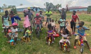 Verteilung der Spenden-Hilfsaktion